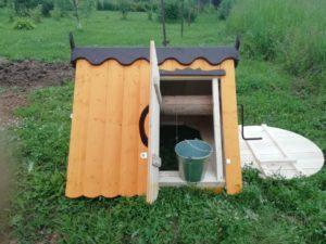 домик для колодцев